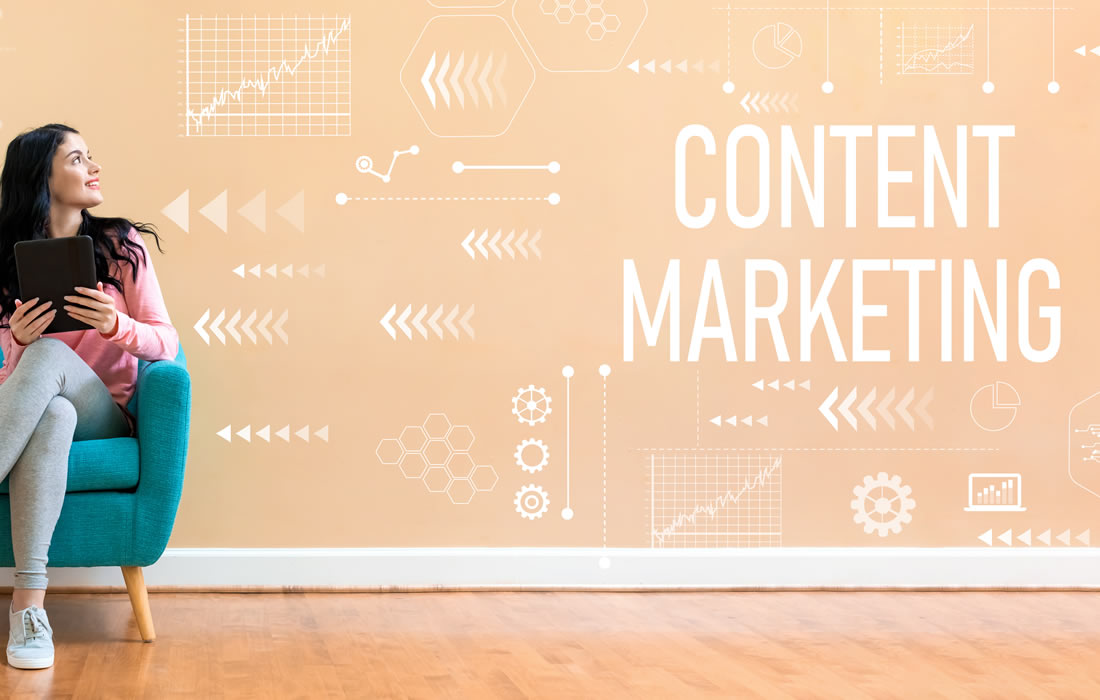 Professional content marketing services